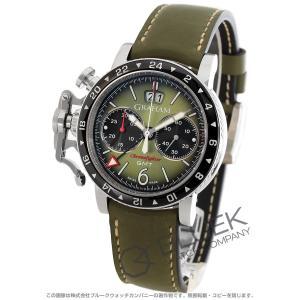 グラハム クロノファイター ヴィンテージ クロノグラフ GMT 腕時計 メンズ Graham 2CVBC.G01A.L141S|bluek