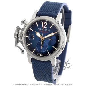 グラハム クロノファイター グランドヴィンテージ クロノグラフ 腕時計 メンズ Graham 2CVDS.U09A.K135S|bluek