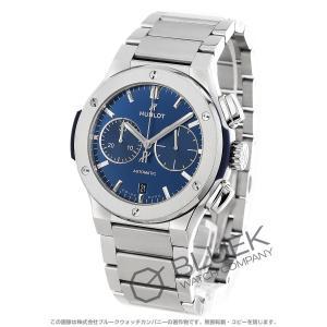 ウブロ クラシック フュージョン チタニウム クロノグラフ 腕時計 メンズ HUBLOT 520.N...