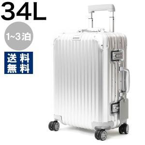 リモワ スーツケース/旅行用バッグ バッグ メンズ レディース トパーズ キャビン 34L 1〜3泊 シルバー 92353004 RIMOWAの画像