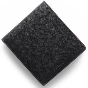 バリー 二つ折財布 ビビィ BYIE ブラック レッド BY...