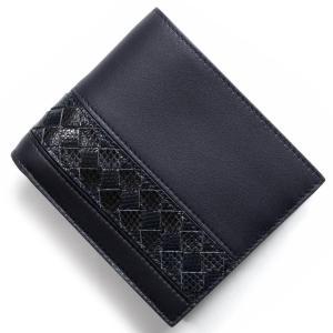 ボッテガヴェネタ 二つ折財布 イントレチャート INTREC...
