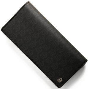 ダンヒルの【ウィンザー】長財布は、ブラックカラーにシンプルですっきりとしたデザインと、肌触りの良い上...
