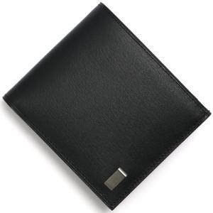ダンヒル 二つ折財布 サイドカー SIDECAR ブラック ...