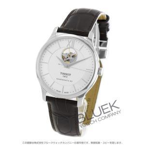 ティソ TISSOT 腕時計 T-クラシック トラディション オープンハート メンズ T063.907.16.038.00