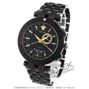 e6fbcd56a5 2つの異なる時刻が読み取れるGMT機能と旅先で便利なアラーム機能を. お気に入り. ヴェルサーチ V-レース GMT 腕時計 メンズ VERSACE  29G60D009S060