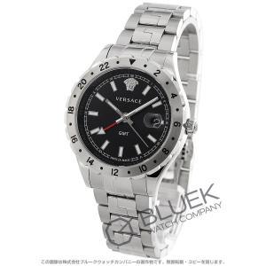 6414361ded ヴェルサーチ ヘレニウム GMT 腕時計 メンズ VERSACE V11020015-N