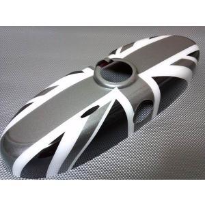 BMW MINI ミニ ルームミラーカバー ブラックジャック R50 R55 R56 R60 ブラックユニオンジャック ミニクーパー クロスオーバー