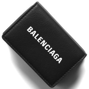 バレンシアガ 三つ折り財布/ミニ財布 財布 レディース エブリディ ブラック 505055 DLQH...