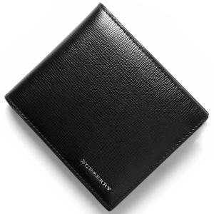バーバリー 二つ折財布 ロンドン LONDON ブラック 3...