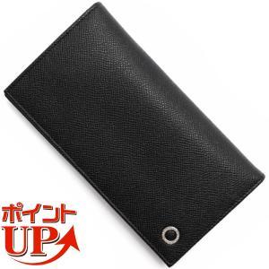 ブルガリの【BB MAN】長財布です。上品なブラック【BLACK】グレインレザーの高級感あるボディ。...