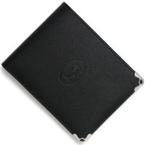 カルティエ 二つ折財布 マスト MUST ブラック L3001369 メンズ