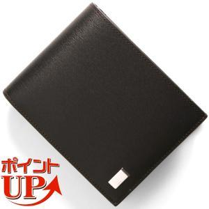 ダンヒル 二つ折財布 サイドカー SIDE CAR ダークブラウン FP3070 E メンズ