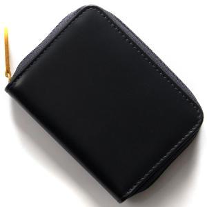 d5a3e7171d72 エッティンガー コインケース【小銭入れ】 財布 メンズ ブライドル ネイビー&パネルハイドイエロー 2050JR BH NAVY ETTINGER