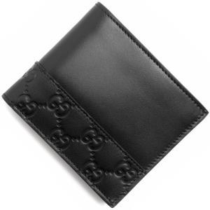 グッチ 二つ折財布 グッチシマ ミストラル ブラック 365...