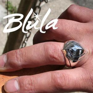 シルバーリング 指輪 刻印 マーキスシャイナー Marquise shiner Blula ブルレ|bluelace