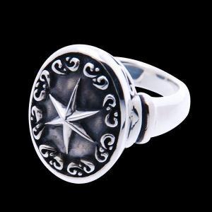シルバーリング 指輪 刻印 星 アラベスク グラスプスター Grasp star クラウズ Blula ブルレ|bluelace