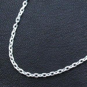 シルバーチェーン φ0.8mm 40cm|bluelace