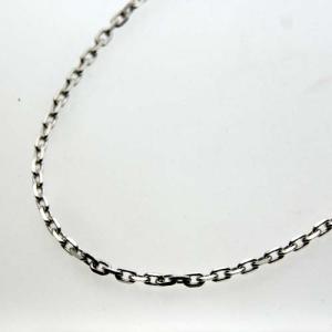 シルバーチェーン 45cm φ1.25mm silver925 クラスプ/Sカン|bluelace