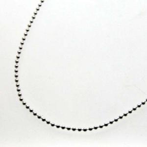 シルバーボールチェーン φ2.0mm 45cm|bluelace