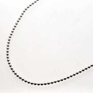 シルバーボールチェーン φ2.5mm 45cm|bluelace