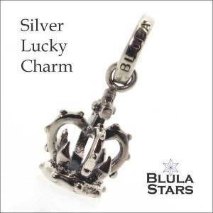 シルバーアクセサリー チャーム ブルレスター ラッキーチャーム クラウン Blula チョーカー silver925 メンズ レディース|bluelace