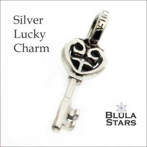 シルバーアクセサリー チャーム ブルレスター ラッキーチャーム キー Blula チョーカー silver925 メンズ レディース|bluelace