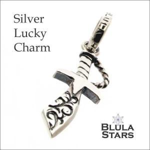 シルバーアクセサリー チャーム ブルレスター ラッキーチャーム ダガー Blula チョーカー silver925 メンズ レディース|bluelace