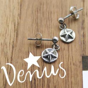 ピアス 星のピアス ドロップタイプ Venus ヴィーナス silver925 レディース メンズ|bluelace