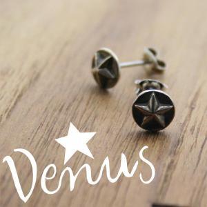 ピアス 星のピアス ボタンタイプ Venus シルバー プレゼント|bluelace