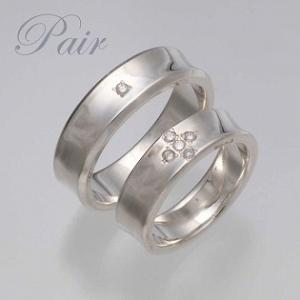 指輪 ダイヤモンド ペアリング 刻印 名入れ ダイヤ|bluelace