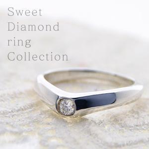 一粒ダイヤモンドリング 天然石ダイヤモンド0.1ct 指輪 シルバー レディース ダイヤ指輪|bluelace