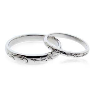 マリッジリング ペアリング プラチナ 結婚指輪 ペア|bluelace