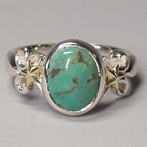 シルバーリング 指輪 刻印 インディアンジュエリー ターコイズ Venus|bluelace