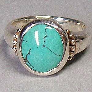 シルバーリング 指輪 12月 誕生石 ターコイズ インディアンジュエリー シルバー925 Classical|bluelace
