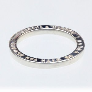 刻印リング 指輪 イニシャル オーダーメイド メッセージ リング|bluelace