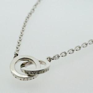 シルバーネックレス 刻印横 Angel's circle エンジェル・サークル オーダーメイド 刻印 silver925 メンズ レディース|bluelace
