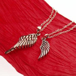 ペアアクセサリー シルバーペンダントトップ チャーム Wings 刻印可 silver925 メンズ レディース|bluelace
