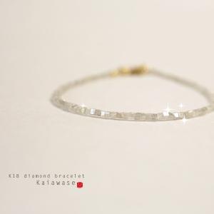 ブレスレット レディース ダイヤモンド ゴールド|bluelace