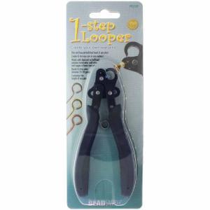 ビーズ 工具 ビードスミス 1-ステップ ルーパーツール アイピン 9ピンを作る工具。穴のサイズ約1.5mm The Beadsmith PLLOOP