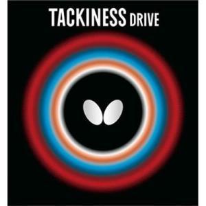 【卓球ラバー】Butterfly(バタフライ) TACKINESS DRIVE(タキネス ドライブ) 05410【350】|bluepeter