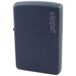 ライター Zippo ジッポ マット 仕上げ Matte 239ZL ネイビー  【546】|bluepeter