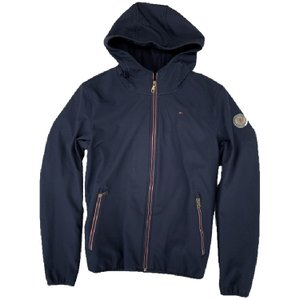 【TOMMY HILFIGER】 SOFT SHELL PERFORMANCE 157AP294 MIDNIGHT【790】|bluepeter