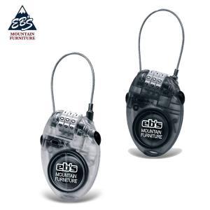 【スノーアクセサリー】eb's(エビス) CABLE LOCK(ケーブルロック)盗難防止※2020-2021も継続商品です【350】 bluepeter