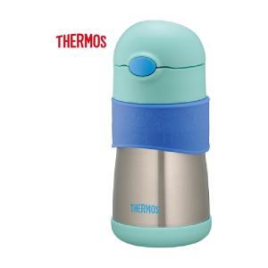 【ベビーマグボトル】THERMOS サーモス ベビーストローマグ FFH-290ST ブルー【590】 bluepeter