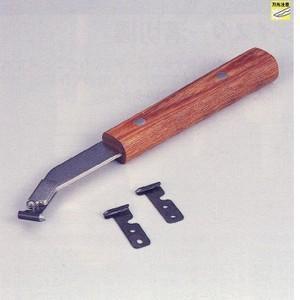 溝切カッター 2.8mm替刃5枚付 カイインダストリー 【527】|bluepeter
