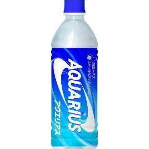 アクエリアス 500ml  (24本×1ケース) PET ペットボトル スポーツドリンク イオン飲料 熱中症対策 Aquarius|bluepeter
