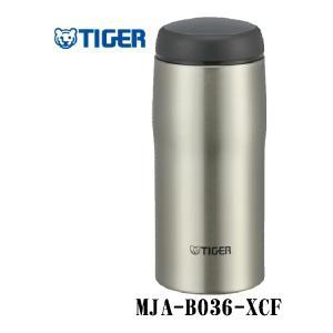 【ステンレスボトル】TIGER 日本製ステンレスボトル MJA-B036-XCF【590】 bluepeter