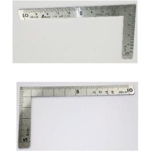小型曲尺 三寸法師 10×5cm  シンワ測定 12101  【451】|bluepeter