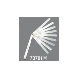 【工具】  シンワ測定 シックネスゲージ A 75mm 9枚組 シンワ 73776 【451】